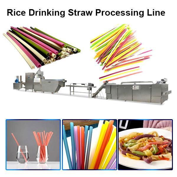 High Speed Full Automatic Biodegradable Drinking Straw Making Machine (70m/min)