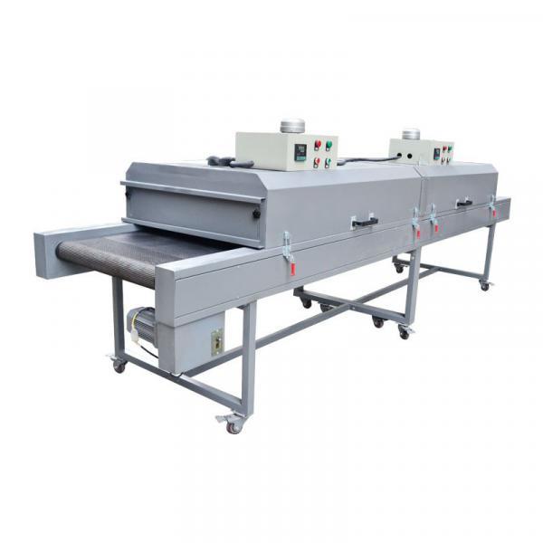 IR Conveyor Drying Tunnelor IR Dryer Machine for Sawdust Clips