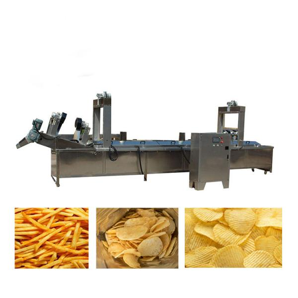 300kg per hour potato chips production line french fries making machine