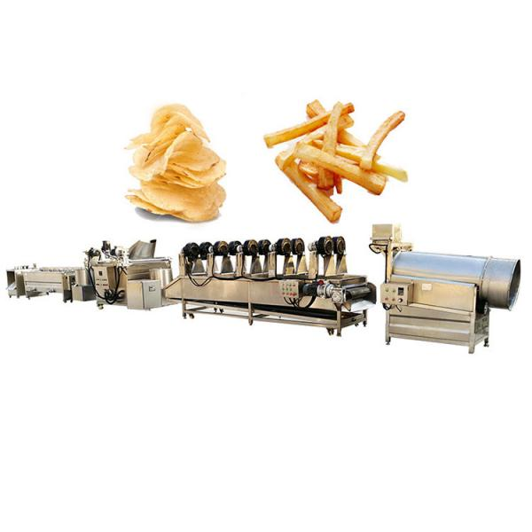 Industrial Semi Automatic Plant Cost French Fries Maker Production Line Sweet Potato Chips Making Machine Price