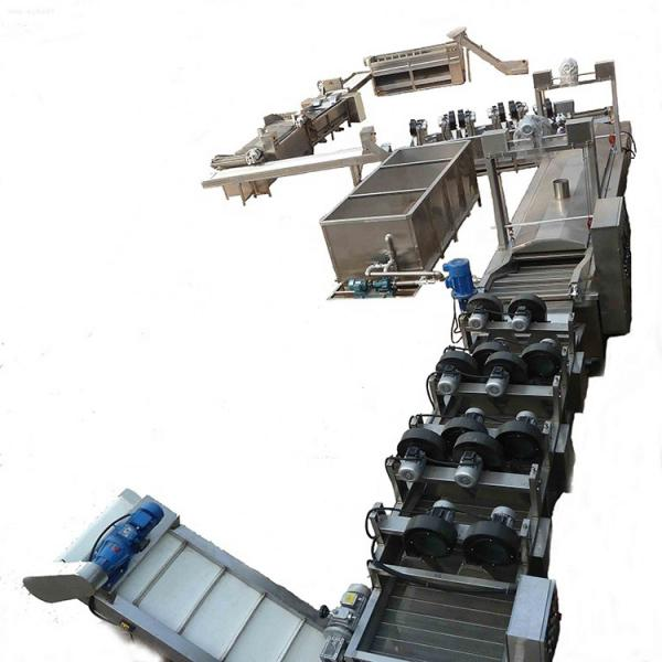 300kg/h semi automatic frozen french fries making machine